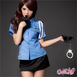 【Caelia】警官誘惑!二件式火辣女警裝