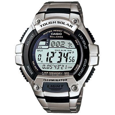 CASIO 陽光遊俠電子運動不鏽鋼錶(W-S220D-1A)-51.7mm