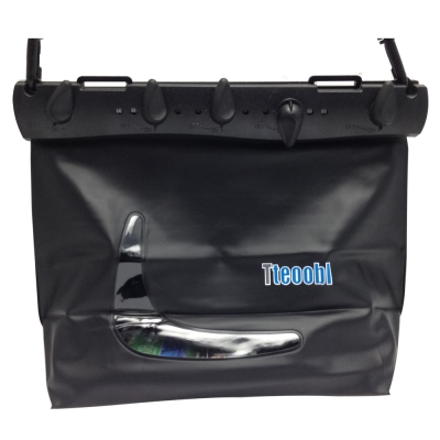 Tteoobl L-819C 耐壓20米專用水上大立體防水斜背包_黑