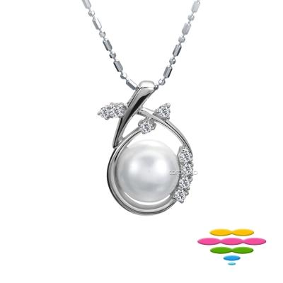 彩糖鑽工坊 日本海水珍珠項鍊&鑽石項鍊 愛萌芽系列