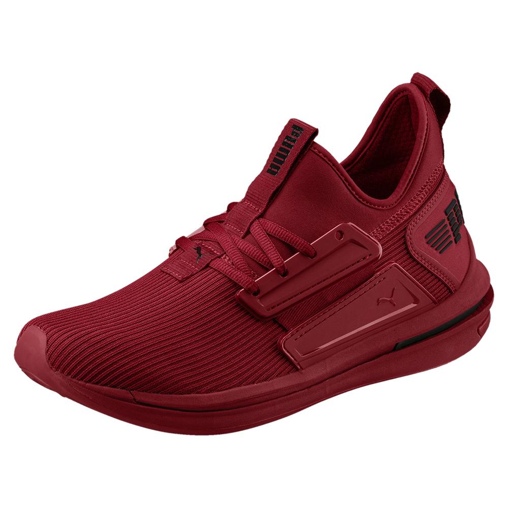 PUMA-IGNITE Limitless SR 男性慢跑運動鞋-鮮亮紅