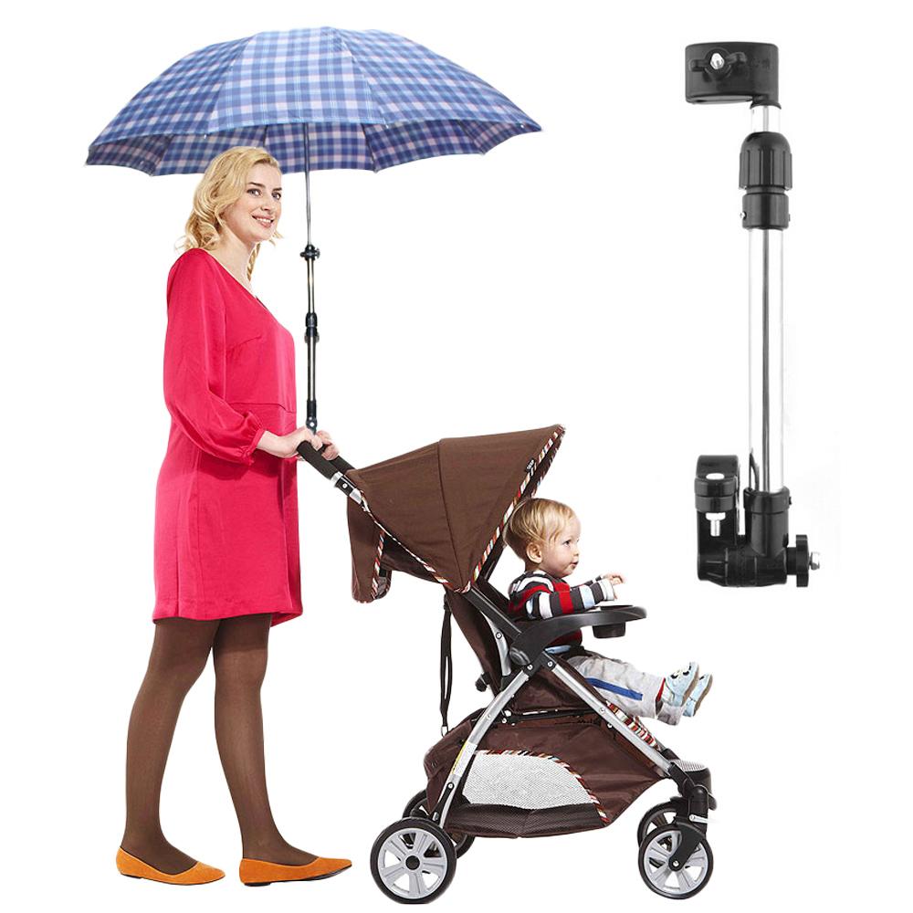 DF 童趣館 - 嬰兒推車戶外專用免持傘架