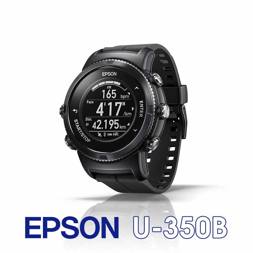 EPSON WristableGPS U-350 全能鐵人教練 藍寶石進階版