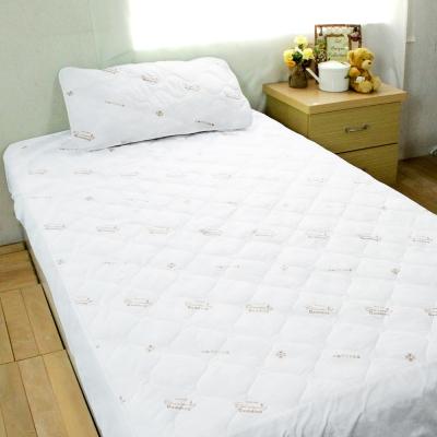 bedtime story 雙效!!日本SEK超強PU防水保潔墊-雙人5尺_床包式