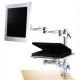 ESB-3360夾桌式液晶螢幕筆記型電腦萬用手臂支架 product thumbnail 1