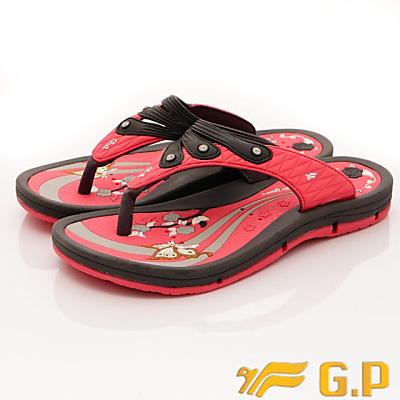 GP時尚涼拖-排水夾腳拖鞋款-SI882W-44亮粉(女段)