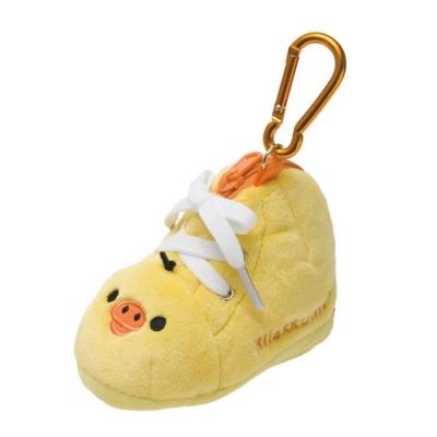 拉拉熊簡單生活系列鞋子造型毛絨零錢包 (S) 。小雞