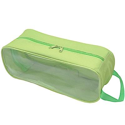 全新福利品月陽旅行外出用透明窗手提防水透氣鞋袋收納鞋包(NGSH3)顏色隨機出貨