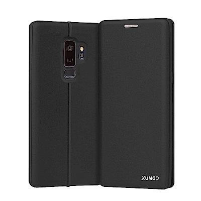 XUNDD for Samsung Galaxy S9+ 賽納可插卡支架皮套