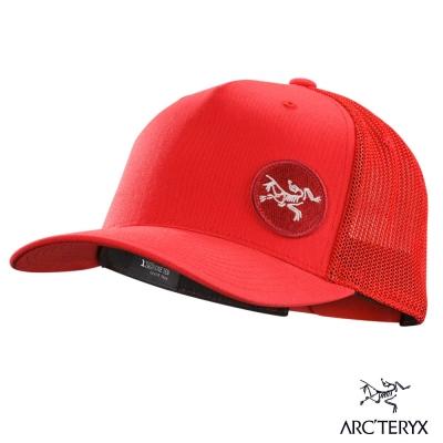 Arcteryx 始祖鳥 24系列 圓標 卡車帽 紅