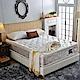 A家-正四線-酷涼感乳膠抗菌-護邊蜂巢獨立筒床墊