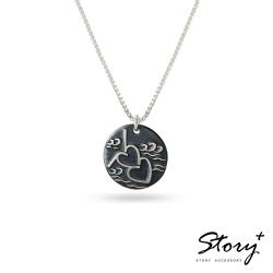 STORY故事銀飾-敬女人-愛情憧憬純銀項鍊