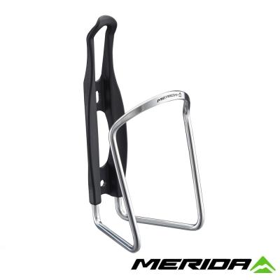 《MERIDA》美利達 2124003308 鋁合金+塑鋼水壺托架 銀 台灣製造