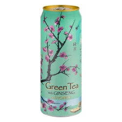 ARIZONA亞歷桑納 蜂蜜人蔘綠茶(340ml)