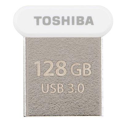 Toshiba Towadako  128 GB 白 USB 3 . 0  隨身碟