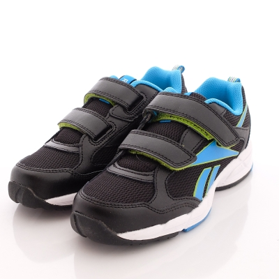 Reebok頂級童鞋-雙絆帶運動款-M47175黑(中大童段)