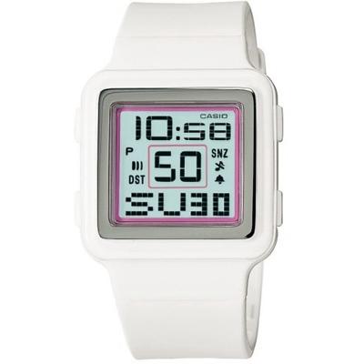 CASIO Poptone 棉花糖彩衣錶(LDF-20-7A)-白