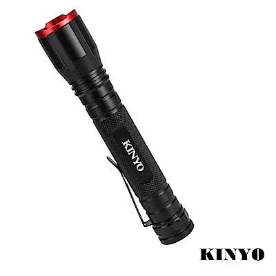 KINYO 電池式LED伸縮變焦手電筒(LED-502)