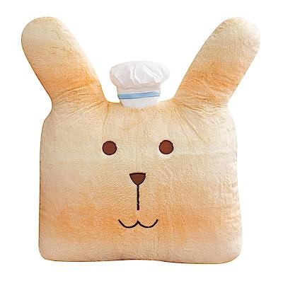 CRAFTHOLIC 宇宙人 烘焙師傅兔大靠枕