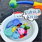 JoyNa 浴室釣魚戲水捏捏噴水玩具