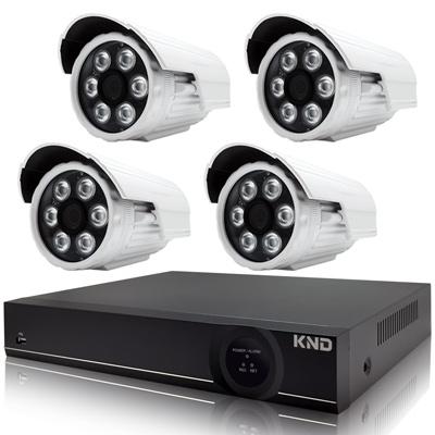 奇巧 8路AHD正1080P台製雙硬碟款主機-含SONY 200萬攝影機x4