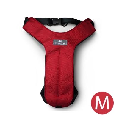 Sleepypod 寵物旅者安全胸背帶-紅M
