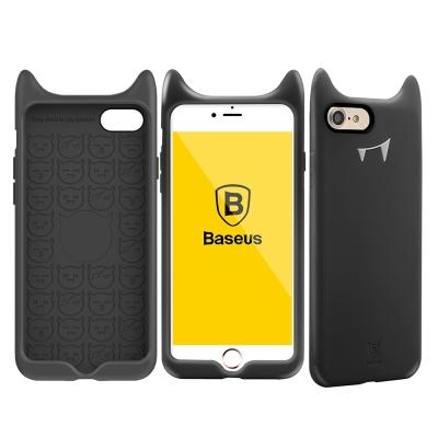 Baseus倍思 i7/i8 小惡魔柔軟矽膠手機殼