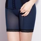 曼黛瑪璉-15AW 魔幻美型  重機能中腰中管束褲(內斂藍)