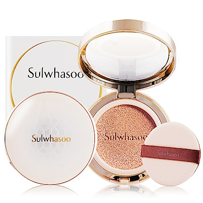 Sulwhasoo雪花秀 完美瓷肌氣墊粉霜SPF50+PA+++15gX2多色可選