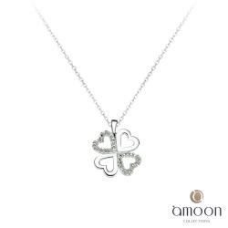 amoon 法式18K金系列 幸福 18K金鑽石項鍊