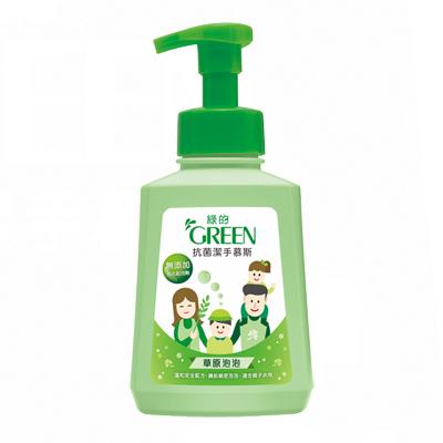 綠的GREEN 抗菌潔手慕斯-草原泡泡500ml*1
