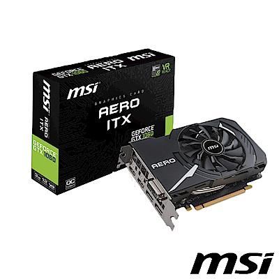 MSI 微星 GTX 1060 AERO 3G OC