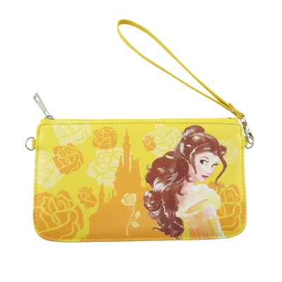 Disney迪士尼橫式手機袋-手繪系列-貝兒