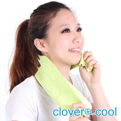 Clover瞬間涼感多用途冰涼巾(領巾)-薄荷綠