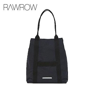 RAWROW-漫遊系列-經典休閒托特包-墨黑-RTO295BK