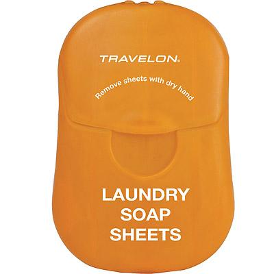 TRAVELON 衣物旅用皂紙(橘)