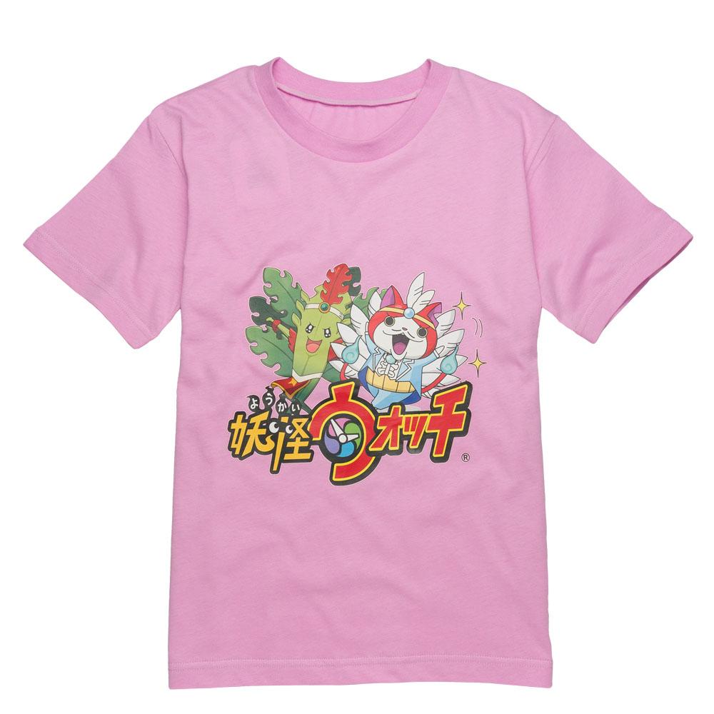 anny pepe妖怪手錶短袖T恤S號_粉