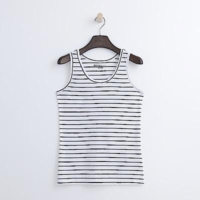 Hang Ten - 女裝 - 基本條紋背心-白色