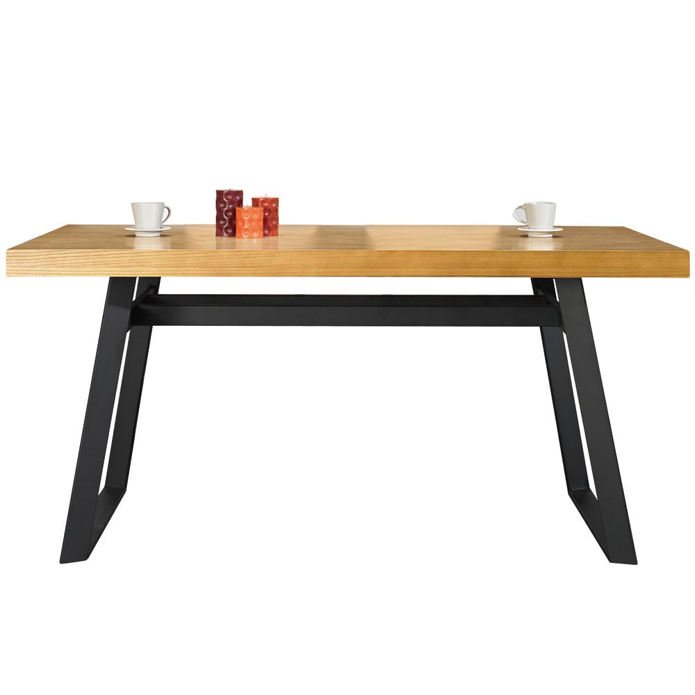 AT HOME-拉亞五尺栓木本色餐桌