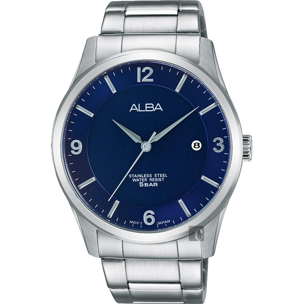 ALBA 時尚東京限定石英腕錶(AS9C23X1)-藍/40mm