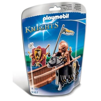 playmobil 中古騎士系列 狼騎士遊俠