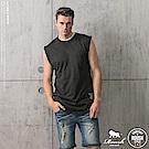 ROUSH  長版弧形無袖棉質背心(3色)