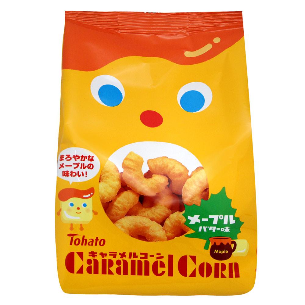 東鳩  焦糖玉米脆果-楓糖奶油(75g)
