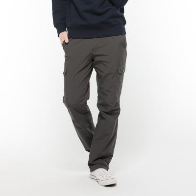 Hang Ten - 男裝 -ThermoContro恆溫多功能口袋運動風褲 -灰
