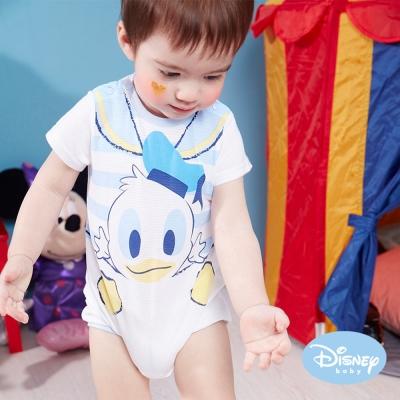 Disney Baby 俏皮水手唐老鴨包屁衣 淺藍