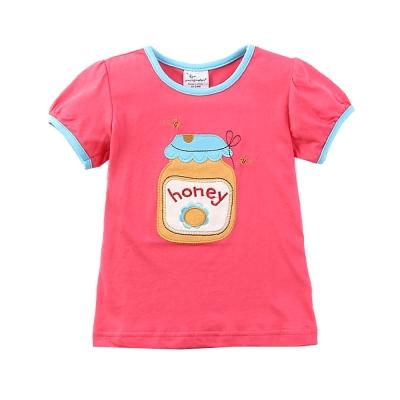 jumping meter上衣 女童 HONEY 歐美經典兒童純棉短袖T恤