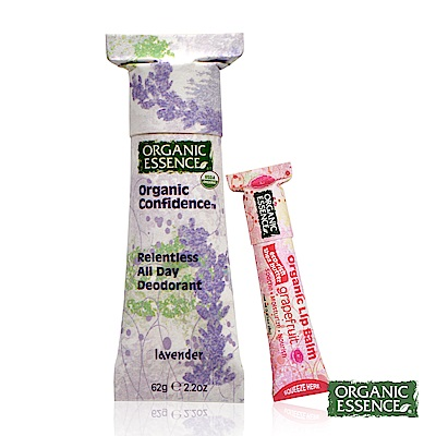 Organic Essence 美國環保體香膏 有機薰衣草 贈護唇膏