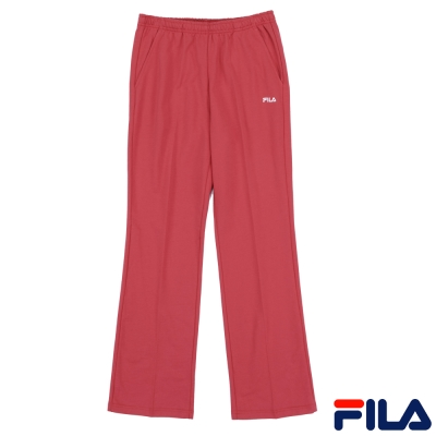 FILA-女款純棉平口長褲5PNP-5512-PC