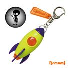 Dreams Projector Rocket 火箭怪獸投射燈鑰匙圈 - 綠色/火星人