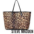 STEVE MADDEN-BLINDY-經典素面托特包-豹紋